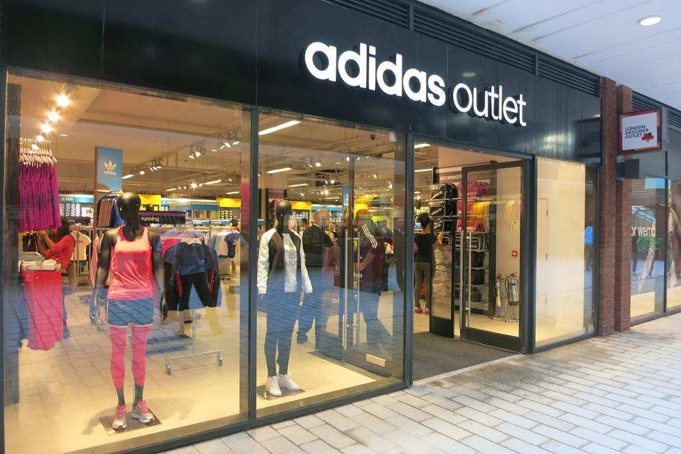 adidas outlet wembley